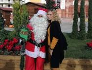 Στο Χριστουγεννιάτικο Χωριό της Πάτρας, η Κατερίνα Καραβάτου!