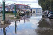 Πάτρα: Ο δρόμος που όταν βρέχει γίνεται 'λίμνη' (φωτο)