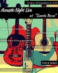 Acoustic Night Live at Santa Rosa