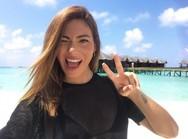 Στις Μαλδίβες η Ευρυδίκη Βαλαβάνη! (φωτο)