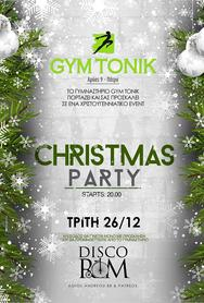 Gym Tonic Christmas Party at Disco Room