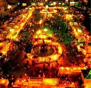 Ρετρό - Η πλατεία Γεωργίου με τους μποναμάδες, πιο νοσταλγική από ποτέ (pics)