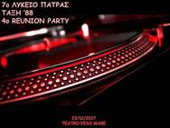4o Reunion Party από το 7ο Λύκειο Πάτρας στο Teatro