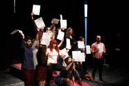 Πάτρα: Απονεμήθηκαν πτυχία σε απόφοιτους της Δραματικής Σχολής του ΔΗ.ΠΕ.ΘΕ. (pics)