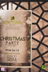 Gym Tonik Xmas Party at Disco Room 26-12-17