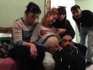 Έγκυος η Πατρινή, Έλλη Τρίγγου, για τις ανάγκες της νέας της ταινίας (pics)