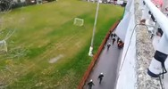 Επεισόδια μεταξύ οπαδών στην Καλαμαριά (video)