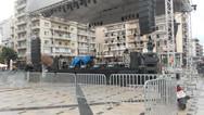 Όλα έτοιμα στην πλατεία Γεωργίου για την τελετή έναρξης του Πατρινού Καρναβαλιού (pics)
