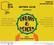 Drums & Voices στο Roof Stage του Gazarte