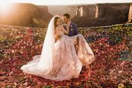 Ένας γάμος στον… αέρα! (φωτο)
