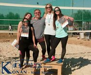 Beach Volley - Ολοκληρώθηκαν οι κατηγορίες Γυναικών Bronze και  Μικτού Gold για την 3η αγωνιστική