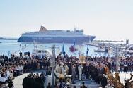 Οι Μυκονιάτες στις θρησκευτικές εκδηλώσεις στην Τήνο (pics)