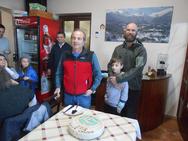 Πάτρα: Στην Τσαπουρνιά έκοψαν την πίτα τους οι ορειβάτες του 'Ωλενού' (pics)