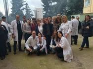 Πάτρα: Το τσίκνισαν για τα καλά στο Καραμανδάνειο Νοσοκομείο (pics)