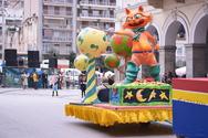 Πάτρα: Λίγα τα άρματα του δήμου στην καρναβαλική παρέλαση των μικρών (pics)