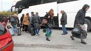 Δεκάδες λεωφορεία φέρνουν κόσμο από παντού για το Πατρινό Καρναβάλι - Κορυφώνεται η κίνηση (pics+video)