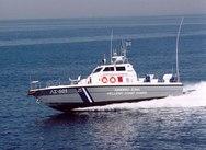 Ακυβερνησία σκάφους στα Νέα Μουδανιά