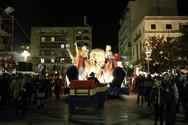 Φως Καρναβαλιού και ατμόσφαιρα γιορτής στο κέντρο της Πάτρας (φωτο)