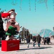 Πρωινή βόλτα στην Πάτρα, το τελευταίο Σάββατο του Καρναβαλιού (video)