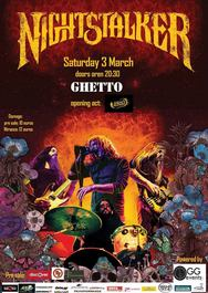 Nightstalker live at Ghetto