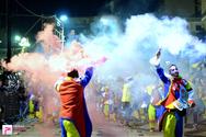 Νυχτερινή Ποδαράτη Παρέλαση Πατρινού Καρναβαλιού 17-02-18