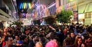 Πάτρα: Μόνο από θαύμα δεν είχαμε τραυματισμούς στη Ρήγα Φεραίου τις μέρες του καρναβαλιού!