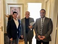 Μύκονος: Συνάντηση Δημάρχου με τον υπουργό Επικρατείας