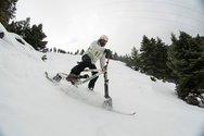 Καλάβρυτα - Αγώνες κατάβασης με Skibike μέσα στο χιόνι!