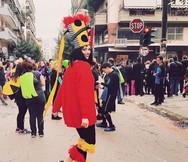 Σάρα Νένα - Η Ιταλίδα που μετέφερε το κλίμα του Πατρινού Καρναβαλιού μέσα από το blog της!