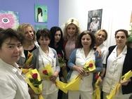 Πάτρα - Το «ευχαριστώ» της Έλενας Κονιδάρη στις γυναίκες που υπηρετούν στα ογκολογικά τμήματα