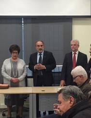 Πάτρα: Πραγματοποιήθηκαν τα εγκαίνια των ιατρείων της Ομοσπονδίας Αυτοδιαχειριζόμενων Ταμείων Υγείας Ελλάδος