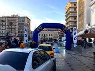 Ράλλυ Αχαιός - Η πλατεία Γεωργίου της Πάτρας «φόρεσε» τα αγωνιστικά της (pics)