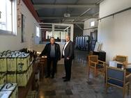 Καλάβρυτα: O Ανδρέας Ριζούλης επισκέφτηκε το Δασαρχείο και το Δήμο