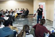 100 νέοι έδωσαν το πρώτο τους ραντεβού με την επιχειρηματικότητα στην Πάτρα! (φωτο)