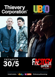 Thievery Corporation at Fix Factory of Sound Open Air