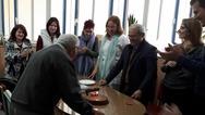 Πάτρα: Η έκπληξη των δασκάλων στον συνταξιούχο εθελοντή Γιώργο Κατσιπόδο (pics)