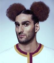 O Marouane Fellaini έπιασε τα μαλλιά του σε σχήμα... Μίκι Μάους (φωτο)
