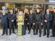 Στο Αστυνομικό Μέγαρο Αχαΐας υποδέχθηκαν το Τίμιο Ξύλο (pics)
