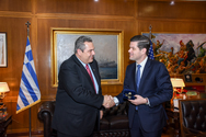 Συνάντηση Καμμένου με τον Υφυπουργό Εξωτερικών των ΗΠΑ Wess Mitchell