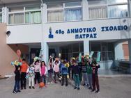 Στα σχολεία της Πάτρας το υλικό των Street Relays (pics)