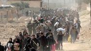 Συρία: Εκατοντάδες οικογένειες εγκατέλειψαν την Αφρίν