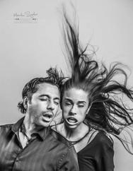 Πορτρέτα ανθρώπων μπροστά σε έναν φυσητήρα φύλλων που εκτοξεύει αέρα με 385 χλμ/ώρα (φωτο)