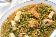 Μαγειρέψτε κοτόπουλο με αρακά