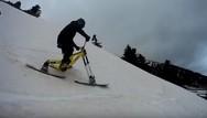 Μοναδικό θέαμα στον Skibike Downhill Race στο Χιονοδρομικό Κέντρο Καλαβρύτων (video)