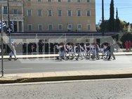 Αθήνα: Σε εξέλιξη η μαθητική παρέλαση για την 25η Μαρτίου (φωτο)