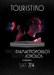 Nikos Diamantopoulos-Giannis Jovolos at Touristiko