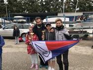 Ο Νικόλας Γεωργόπουλος του Ιστιοπλοϊκού Ομίλου Πατρών κατέκτησε την 3η θέση στην Περιφέρεια