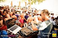 Dj Saradis @ Blue Lake Sunday Parties 15-07-12 Part 1