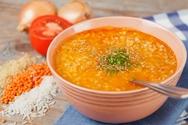 Συνταγή για σούπα με φακές και ρύζι