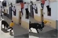 Η φρικιαστική στιγμή που ταύρος τρυπάει μέχρι θανάτου άντρα στην Ισπανία (video)